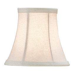 Currey & Company - Small Bone Linen Shade - Decorative shade