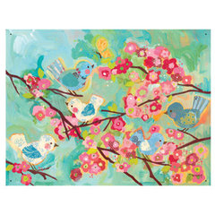 eclectic kids products Oopsy Daisy Wall Mural Cherry Blossom Birdies