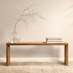 None - Renate Natural 48-inch Dining Room Bench - The Renate natural 48-inch bench is a great addition to your entryway,end of your bed or any other space. This elegant piece showcases a minimalist yet elegant design that will enhance any contemporary decor.