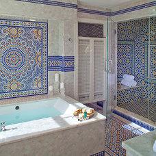 Farmhouse Bathroom by Polhemus Savery DaSilva