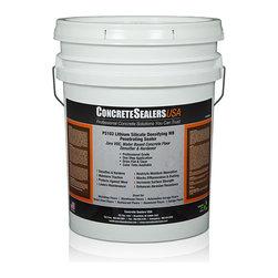 Concrete Sealers USA - PS103 Lithium Silicate Densifying WB Penetrating Sealer (5 gal.) - Zero VOC, Water Based Concrete Floor Densifier & Hardener