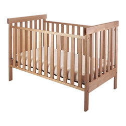 Pacific Rim Woodworking - Pacific Rim Mple Crib, Arts & Crafts - A beautifully handcrafted solid maple natural wood Pacific Rim crib that is hand rubbed with a natural non-toxic finish ad is available in Arts and Crafts Style or Radius Style. This natural wood crib is crafted in Oregon from Western Maple by Pacific Rim Woodworking.