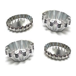 Fluted Design Round and Oval Shape Tart/Pie Molds