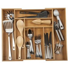 Modern Cabinet And Drawer Organizers by Core Bamboo