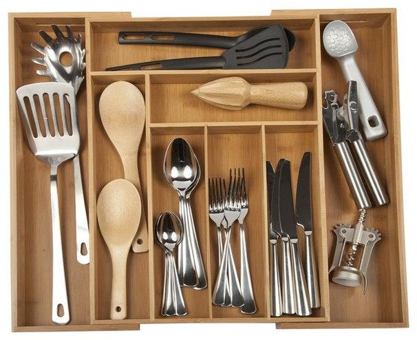 Modern Kitchen Drawer Organizers by Core Bamboo