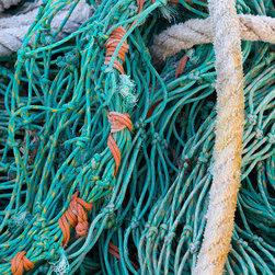 Nautical Fishing Net and Ropes Photo Print -
