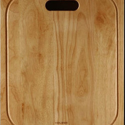 Houzer - Cutting Board for Zero Radius Topmount Sinks - For use with Houzer products only. Fits BCS-2522, BLS-3322, BCD-3322. Hardwood cutting board. Oak. 1 Year Warranty