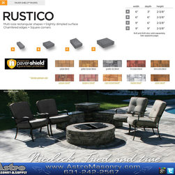 Products - Thanks so much for everyone that came out to our event on Saturday. Was huge success thanks to you guys and tons fo fun.pics to follow soon... Here is a cool way to do a firepit patio using Nicolock Paving Stones and Astro Masonry & Supply
