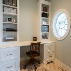 Traditional Home Office by Architectural Photography Group