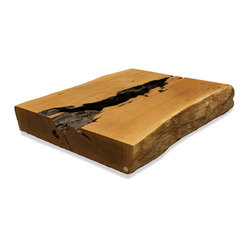 Organic Pequi Trunk Section Coffee Table Top