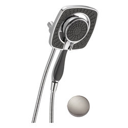 """Delta - Delta 58468-SS In2ition Arm Mount Hand Shower - Delta 58468-SS In2ition Arm Mount Hand Shower in a Stainless Steel finish. The shower has a five spray settings an  a metal hose that is stretchable from 60"""" to 82"""" providing great convienence for bathers."""