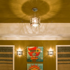 Contemporary Living Room by Littman Bros Lighting
