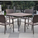 Barcelona Contemporary Resin Wicker Patio Chair Set - Complete your outdoor dining set with the Barcelona Contemporary Resin Wicker Patio Chair Set. Crafted from durable and rust-free aluminum, these handsome alfresco dining chairs feature a beautiful text weave design crafted from premium resin wicker. Choose from a variety of outdoor finishes for the set that best complements your home, patio, deck or garden.About International Caravan, Inc.For nearly half a century, International Caravan, Inc. has been scouring the world for unique furniture and home decor products to bring to the international market. Today, International Caravan, Inc. is ranked as one of the leading import and wholesale distributors in the nation. Their products can be found on the largest E-commerce websites as well as in America's leading retail stores.
