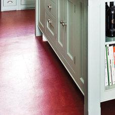 linoleum kitchen floor Red Amaranth thenaturalabode.jpg