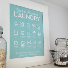 laundry products by Lettered & Lined
