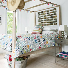 Modern Country Bedroom Decor < Colorful, Cozy Spaces - Coastal Living