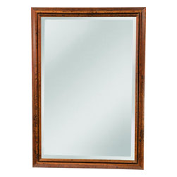 Mirror Masters - Clean Groove Designed FrameOgden Collection - The clean groove design of this transitional frame can enhance Arts and Crafts dEcor as well as relaxed traditional looks. Mount vertical or horizontal.