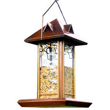 Transitional Bird Feeders by H Potter
