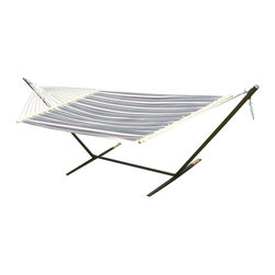 Phat Tommy - Hammock and Stand Set - Our Phat Tommy Hammock and stand set brings style and relaxation to any deck, patio, or backyard.