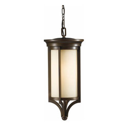 Murray Feiss Lighting - Murray Feiss Lighting-OLPL10211HTBZ-Merrill - One Light Outdoor Hanging Lantern - Feiss Lighting is not just about dramatic and dazzling Chandeliers and pendants; it has everything to give that warm and bright look to your dining room, living room, family room or bedrooms besides kitchen and bath. Its impeccable craftsmanship has given many a home exclusive finishes from both the interior and exterior and has a selection to suit every home decor whether contemporary or classic and different color pallets as well. It also houses state of the art portable line which includes table, floor, and swing arm lamps, along with torchieres. Feiss also has in-house designers, engineers, color forecasters, and quality control experts to make sure that you get the top quality service and land up with something that you are totally satisfied with. All this and more, with a complete balance between the remarkable quality standards and affordable price range.