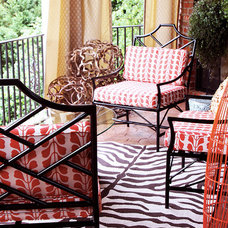 Eclectic Porch by Lucy and Company