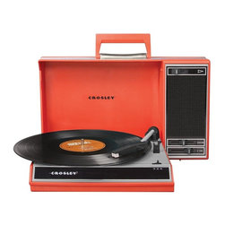 Crosley Radio - Crosley Spinnerette Turntable USB Recorder - Belt Driven Turntable Mechanism