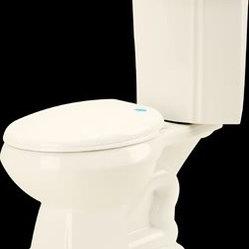 Bone Vitreous Corner Toilet Sheffield Dual Flush Round