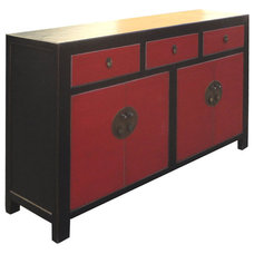 Traditional Side Tables And End Tables by Golden Lotus Antiques