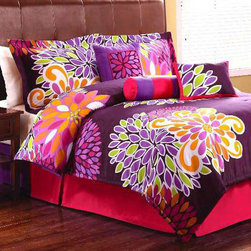 RR - Flower Show Comforter Set - Flower Show Comforter Set
