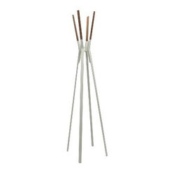 Splash Coat Rack by Blu Dot, Gray