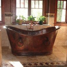 Rustic Bathtubs by RusticSinks.com