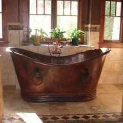 traditional bathtubs by RusticSinks.com
