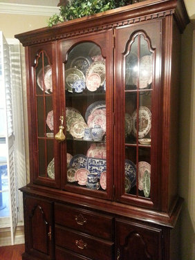 Cherry Dining Table Chairs China Cabinet Should I