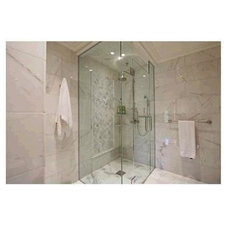Contemporary Showers by Marble Trend
