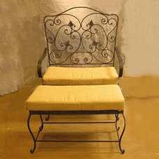Eclectic Patio Furniture And Outdoor Furniture by accentsinthegarden.com