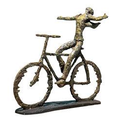 Uttermost - Uttermost 19488 Freedom Rider Metal Figurine - Uttermost 19488 Freedom Rider Metal Figurine