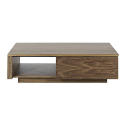 Entertain the idea of style and function with the Axis coffee table. Appetizers