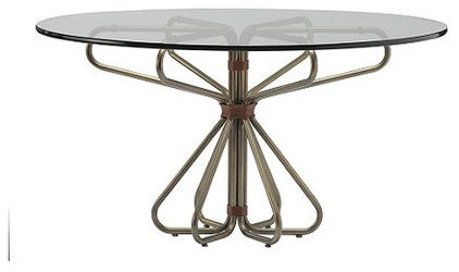 Eclectic Dining Tables by McGuire Furniture Company