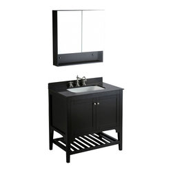 "Bosconi - Bosconi SB-250 33"" Contemporary Single Vanity - Bosconi SB-250 33"" Contemporary Single Vanity"
