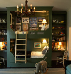 traditional kids kids room