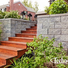 Modern Retainer Walls by Techo-Bloc