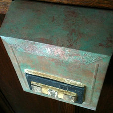 eclectic mailboxes by Kasten Design Works