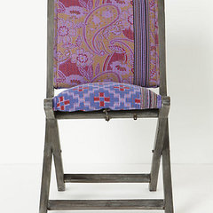 eclectic chairs by Anthropologie