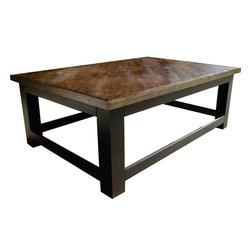Coffee Tables and End tables - Starting as low as $150 Vintage Headboards makes standard to over-sized coffee tables and end tables.  Contact us at 972.668.2603 to place your orders.