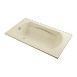 Sterling - Sterling Lawson 76311100 72 in. x 42 in. Whirlpool Bathtub - 76311100-0 - Shop for Jetted/Whirlpool from Hayneedle.com! The 6-foot Sterling Lawson 7631110 72 in. x 42 in. Whirlpool Bathtub utilizes 8 adjustable jets that give a targeted and vigorous hydrotherapy massage. The design of this piece provides a clean look with a contemporary feel that will elevate the decor of your home bathroom. One of its most luxurious features is its carefully contoured backrest with lumbar support. Capable of holding up to 80 gallons of water this relaxing tub is ideal for the individual who enjoys a nice long soak after a hard day's work! As for the construction of this bathtub Sterling has a reputation for quality craftsmanship and like all of their other bath products; this unit is made from solid Vikrell. The compression-molded Vikrell is a Sterling exclusive that provides strength durability and a lasting beauty that you can customize with your own choice of finish. Kohler almond Kohler biscuit and pure white are all available with a coating of high-gloss that creates a smooth shiny surface which looks marvelous and is incredibly easy to clean. This CSA-certified bathtub measures 72W x 36D x 20H inches and installs easily. Receptor only; end walls and back walls can be ordered separately. Available in your choice of left- or right-hand drainage. About SterlingEstablished in 1907 and quickly recognized as a leading manufacturer of faucets and brassware Sterling has been known for their diversity of products and industry-leading designs for over a century. In 1984 Sterling was acquired by Kohler Co. to create a mid-priced full-line plumbing brand and allow Kohler the opportunity to sell their products in retail stores. Over the years Kohler quickly began acquiring other companies to help enhance the Sterling line of products that was quickly growing into the likes of stainless steel sinks compressed fiberglass bathtubs and enclosures and vitreous china products. With t