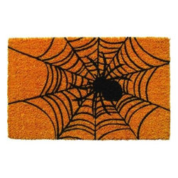 Entryways - Entryways Spider Web 17 in. x 28 in. Non Slip Coir Door Mat P939 - Shop for Holiday Decorations at The Home Depot. This distinctive doormat from Entryways Sweet Home collection bears an original design created by an artist. This mat is crafted of all-natural coir with non-slip backing to meet the industry s highest standards. It combines an artist s touch with affordability to provide functional artistry for the home.