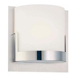 George Kovacs - Convex 1-Light Bath Bar - Convex 1-Light Bath Bar