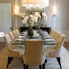 Traditional Dining Room by Lisa Vail Design