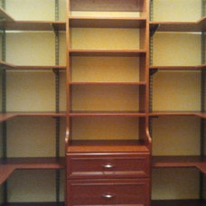 Traditional Closet Organizers by Wilson Lumber Company