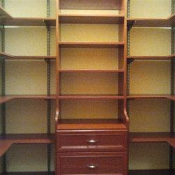 Closet Systems - FreedomRail Closet System by Wilson Lumber Company